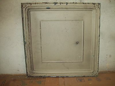 "24"" x 24"" Antique Tin Ceiling Tile - Light Olive"