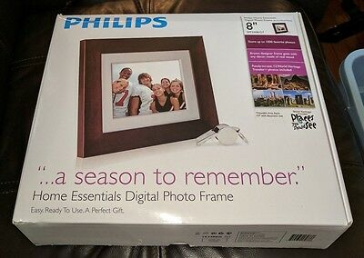 Philips Home Essentials Digital Photo Frame SPF3408T/G7 8 inch LCD Panel PICTURE