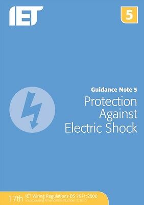 Guidance Note 5: Protection Against Electric Shock (Electrical Regulations) (Pa.