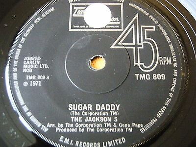 "The Jackson 5 - Sugar Daddy  7"" Vinyl"