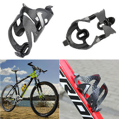 Glass Carbon Fiber Road MTB Bik. Bicycle Cycling Water Bottle Holder Rack Cage /