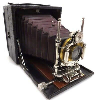 KODAK No. 4 Eastman Plate Camera Series C, Bausch & Lomb Rapid Rectiliniar bq084