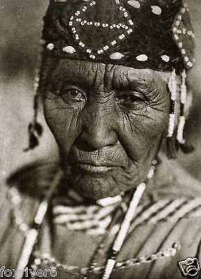 Wife of MODOC HENRY Photograph - KLAMATH American Indian 1923 - reprint