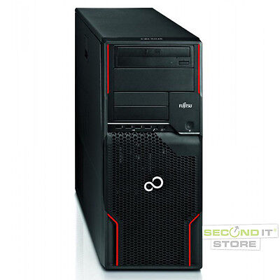 Fujitsu Celsius W510 Power Workstation Xeon Quad 4x 3,2GHz 8GB RAM 1TB HDD Win10