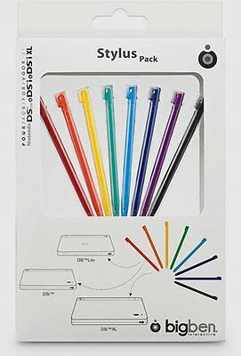 BB Stylus colorati Pack 8 pezzi DSI DSI XL NDS