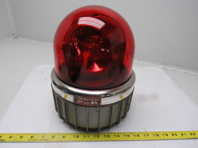 Federal Sign and Signal Corp. Model 371 Commander Ser. A2 250VDC Red Glass Light