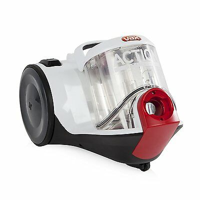 Vax C85-AD-TE Action Total Home Bagless Cylinder Vacuum Cleaner Hoover
