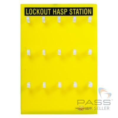 Lockout Hasp Hanger - Without Accessories