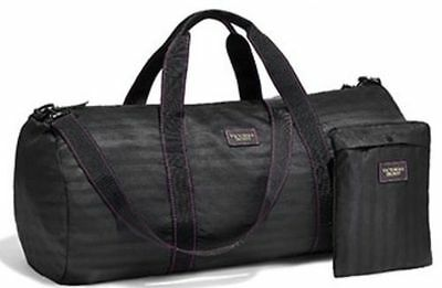 Victorias Secret Packable Travel Duffel With Pouch Weekender Bag Tote