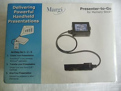 Mobile Margi 24003 Presenter-to-Go for memory stick 26001