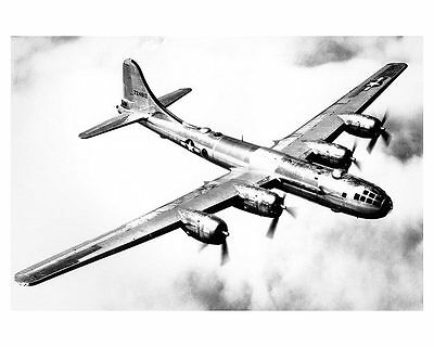 Boeing B-29 Superfortress 12x18 Silver Halide Photo Print