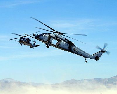 HH-60 Pave Hawks Helicopter 8x10 Silver Halide Photo Print