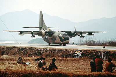 South Korean Fairchild C-123K Provider 12x18 Silver Halide Photo Print