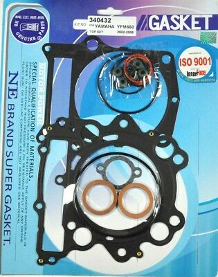 Top End Head Gasket Kit Yamaha Grizzly 660 4X4 2002-2008