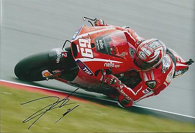 Nicky HAYDEN SIGNED Autograph MotoGP Day Of Champion Ducati 12x8 Photo AFTAL COA