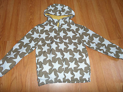 Mini Boden Jacket 5-6 Years Boys Blue Star Hoodie Pullover