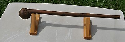 *** Antique Woodland Indian Ball Head War Club Circa 1860's Rare ***