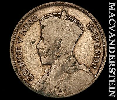 1933 New Zealand One Shilling- Silver !! No Reserve !! #t2008