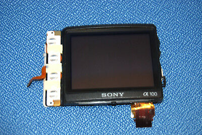 Sony DSLR A100 Rear Cover LCD Display Screen Monitor Replacement Repair Part