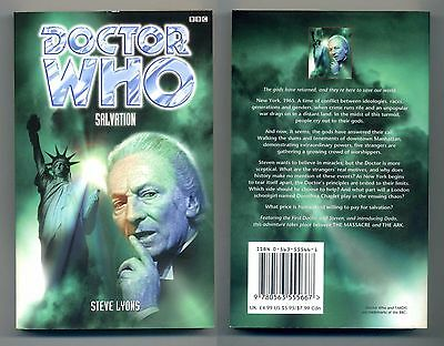 Doctor Who: Salvation by Steve Lyons (Paperback, 1999) 1st. Edition NEW