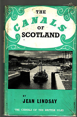 THE CANALS OF SCOTLAND - JEAN LINDSAY Inland waterways  boats boating  cE
