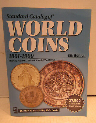 Krause Standard Catalog of World Coins 1801-1900 8th edition Price guide