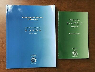 AA Working with S-ANON Exploring the Wonders of Recovery Twelve Steps lot 2 book