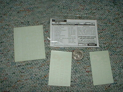 Walthers  decals HO Combined Freight 88-W Southern    white  H122