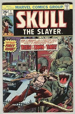 Skull the Slayer #1 August 1975 VG First Issue