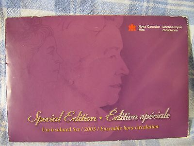 2003 Canadian Mint Proof Like Set  Special Edtition