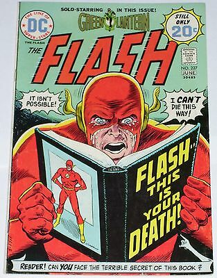 Flash #227 from June 1974 VG- to VG+ Green Lantern