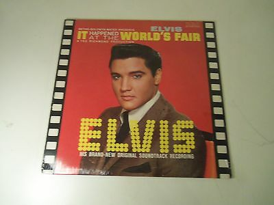 FACTORY SEALED LP ELVIS IT Happened At the WORLD'S FAIR RCA APL1-2568 STEREO