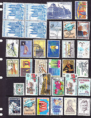 Belgie stamps - 53 MH & Used