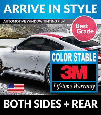 Precut Window Tint W/ 3M Color Stable For Ford F-250 Crew 13-16