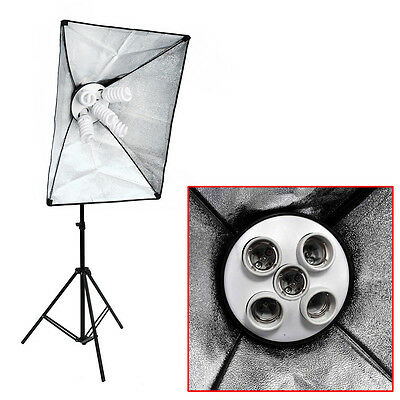 Neewer 50x70cm Photo Studio Lambency Lumière Shade Softbox de prise 5 lumières
