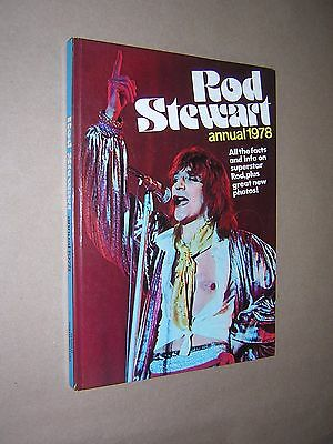 Rod Stewart Annual 1978. Well Illustrated Hardback. Pop Music