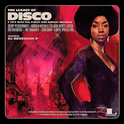 The Legacy Of Disco [ 2 x VINYL]  - various artist - used - good condition