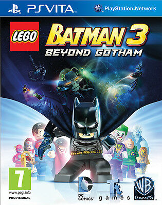 Lego Batman 3 Beyond Gotham Game Ps Vita Brand New Sealed Official Pal