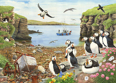 The House Of Puzzles - 500 BIG PIECE JIGSAW PUZZLE - Puffin Parade Big Pieces
