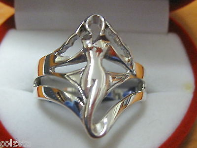 VENUS - GODDESS of LOVE & SEXUAL POWER * 925 SILVER RING * in sizes  5 to 11