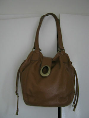 Oroton Buttersoft Leather Bag As New.