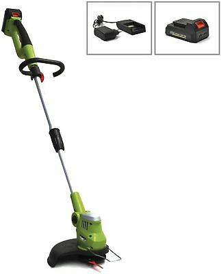 Güde 95781 Akku Rasentrimmer 250/18 RT SET, Trimmer 18Volt