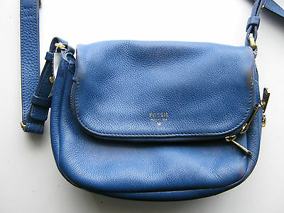 Fossil Crossbody Leather Bag.
