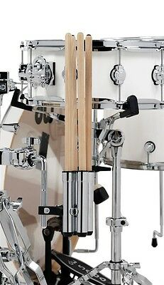 NEW - DW One Beat Drum Stick Holder, Holds Two Pairs! #DWSMSH2
