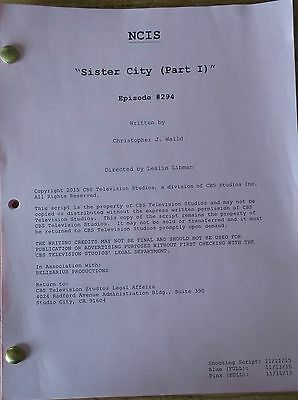 Ncis Tv Series Show Script Episode  Sister Cirt Mark Harmon