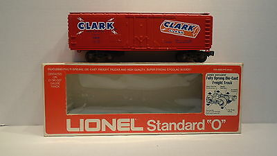 Lionel 6-9889 Clark Reefer Train The D.L Clark Company Div Of Beatrice Loods Co.