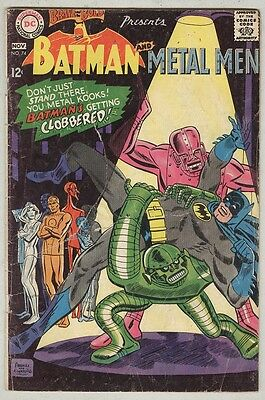 Brave and the Bold #74 October 1967 G Metal Men
