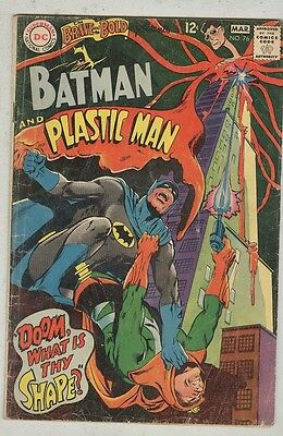 Brave and the Bold #76 February 1968 G Plastic Man