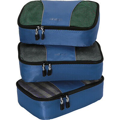 eBags Small Classic Packing Cubes - 3pc Set 9 Colors Travel Organizer NEW