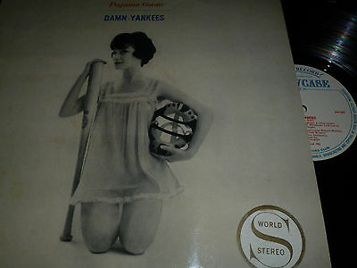 The Pajama Game / Damn Yankees New World Show Orch Vinyl LP LM15 11/58